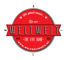 Weltweit - we speak music - Logo